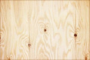 plywood with knot holes